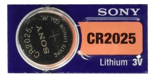 Pila Sony Cr 2025 3v Blister X5