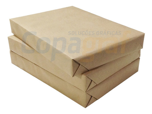 Papel Couchê Brilho 115g Formato A4 250 Folhas