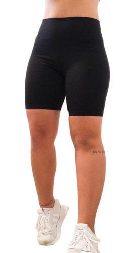 Bermuda Short Legging Academia Feminina Normal