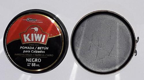 Graxa Para Sapato Kiwi A N° 1 88ml Preto Envio Imediato
