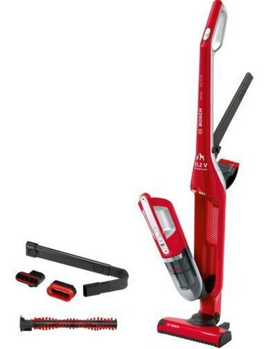 Aspiradora Escoba Sin Cable Flexxo 25.2v Rojo 2 En 1 Bbh3zoo