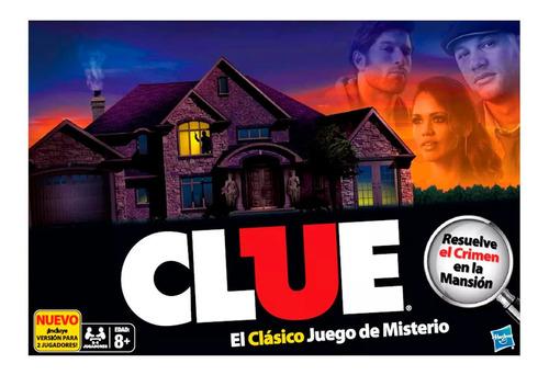 Juego De Mesa Clue Refresh Hasbro