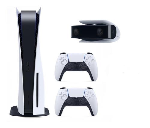 Playstation 5 C\ Disco 2 Controles + Camera - Garantia 1 Ano