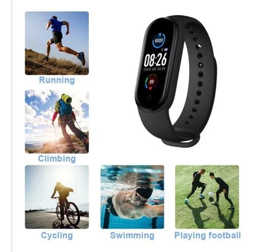 Pulsera Inteligente Bluetooth M5, Reloj Deportivo, Podómetr - Ecart