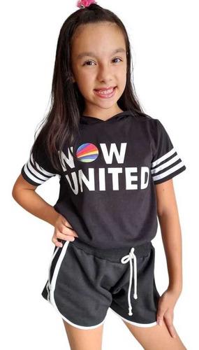 Conjunto Infantil Now United Tam 02 Ao 12