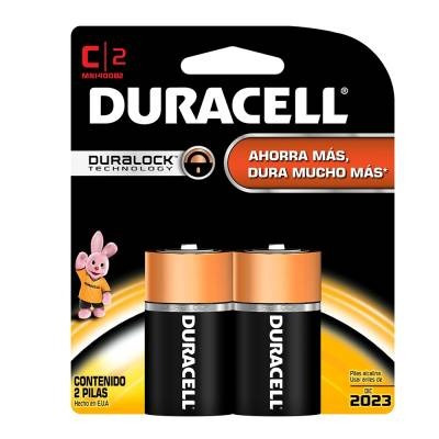 Baterias Duracell, Tipo C,3 Par, Nuevas Y Selladas