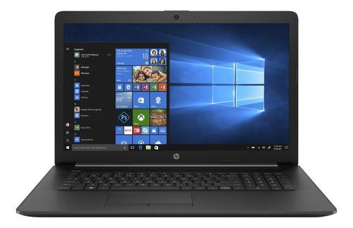 Laptop Hp 17-by3613dx Black 17.3 , Intel Core I5 1035g1  8gb De Ram 256gb Ssd, Intel Uhd Graphics 1600x900px Windows 10 Home