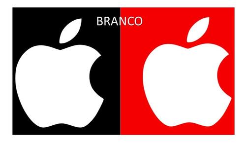 Adesivo Maça Apple iPhone Personalizado Decorativo Veículos