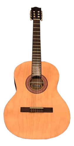 Guitarra Criolla Clásica Gracia M1  Abedul  Natural Derecha