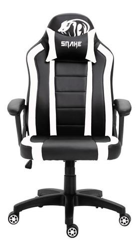 Cadeira Gamer Viper Snake Gaming Reclinável 0440 - Branca