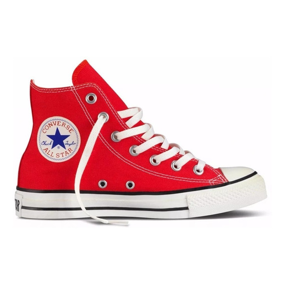 Botitas Converse All Star - Rojo