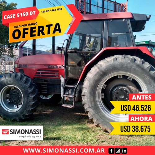 Case 5150 Dt (150hp) Año 1998