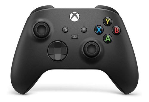 Controle Joystick Sem Fio Microsoft Xbox  Wireless Controller Series X|s Carbon Black