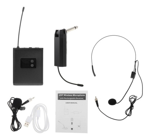Sistema De Microfone Sem Fio, Fone De Ouvido E Microfones De