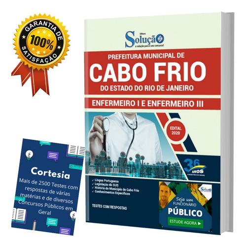 Apostila Prefeitura Cabo Frio Rj Enfermeiro 1