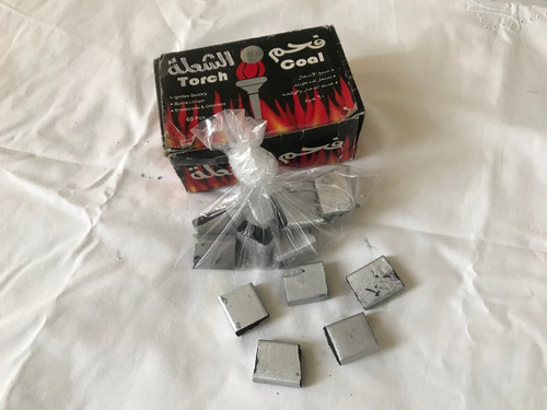 Carbones X Bolsa X 10 Unidades Especiales Para Narguile