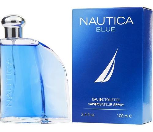 Perfume Locion Nautica Blue Hombre 100% - L a $700