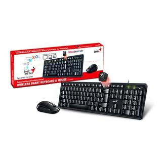 Kit Teclado Mouse Inalambrico Genius Km-8200 Smart