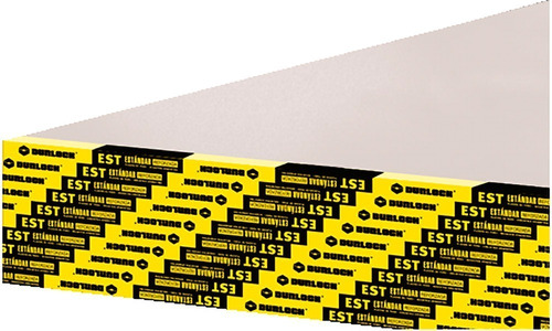 Placa Durlock Est 12.5mm 1.20x2.40m Distribuidor Oficial