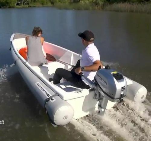 Canobote Caiman 420 Puede Transportar  Porta Equipaje 70 Kg