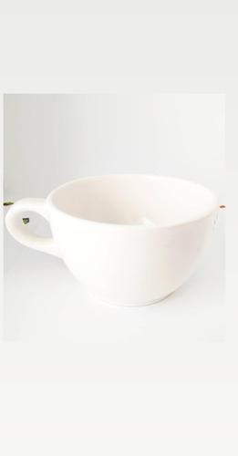 Tazón Blanco De Cerámica