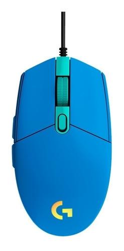 Mouse De Juego Logitech  G Series Lightsync G203 Azul