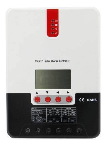 Controlador Regulador De Carga 30a 12/24v Mppt Solar Ps