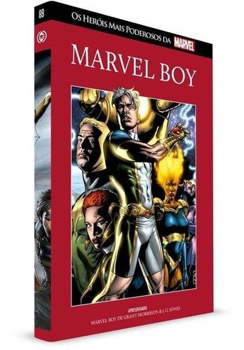 Coleção Os Heróis Mais Poderosos Da Marvel Capa Dura