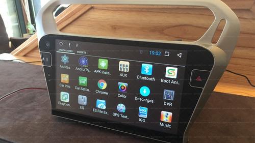 Stereo Gps Android Ios Tv Usb Citroen C-elysee Liquido