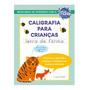 Caderno De Caligrafia Para Crianças Letra De Forma Livro