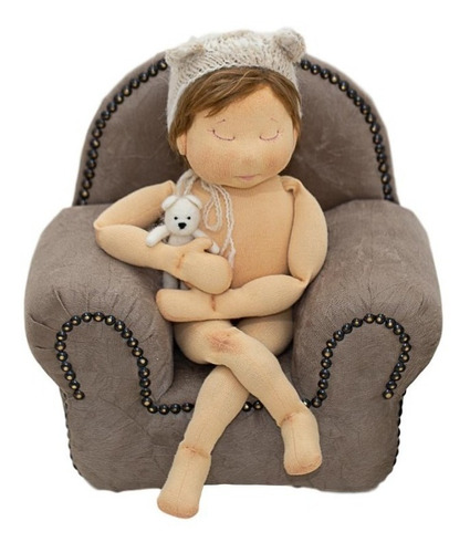 Mini Sofá Prop Fotografia 015 Newborn Recém Nascido Poltrona