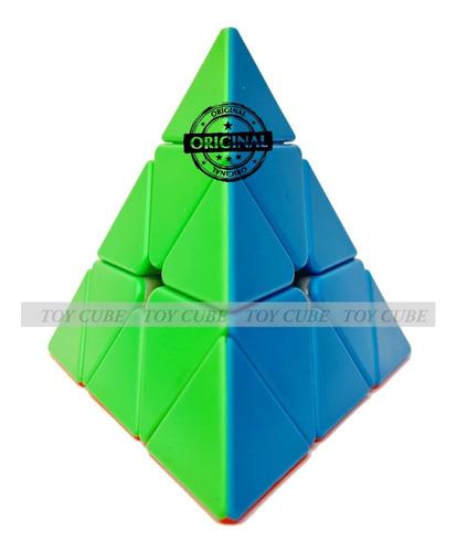 Cubo Mágico Pyraminx Pirâmide Triângulo Profissional Ref144