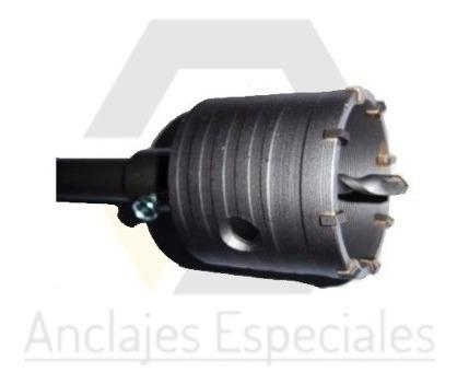 Mecha Copa Widia 100mm+ Extension Sds Plus 370mm