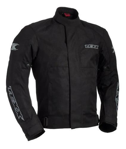 Jaqueta Motociclista Texx Ronin Impermeável Preta