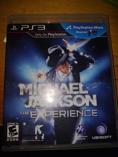 Michael Jackson The Experiense Ps3