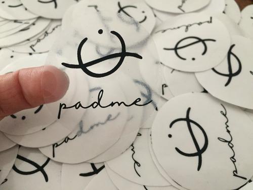 Adhesivos, Stickers, Pegotines, Realizados En Serigrafia.