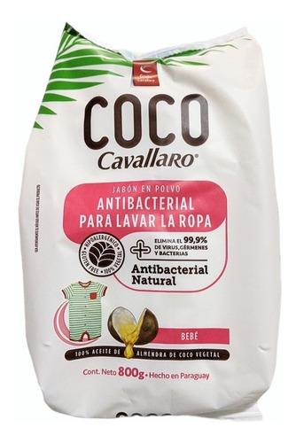 Jabón En Polvo Para Ropa De Bebé 800 Gr Coco Cavallaro