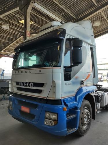 Iveco 400 6x2 2014 Automático Teto Alto Completo /unico Dono