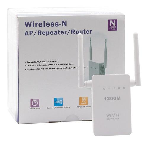 Repetidor De Sinal Wifi 2 Antenas 1200mbps Amplificador