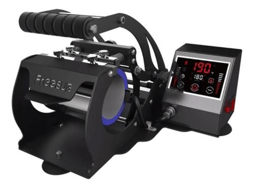 Estampadora Sublimadora Automática Addacor St-130 Pro  Negra 220v