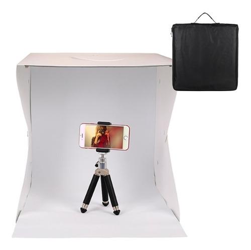 Mini Estúdio 40x40 Fotográfico 70 Led Para Fotos De Produtos