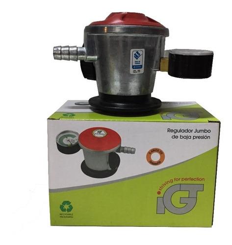 Válvula De Gas 50 Mb P/calefones Supergás C/manómetro - Igt