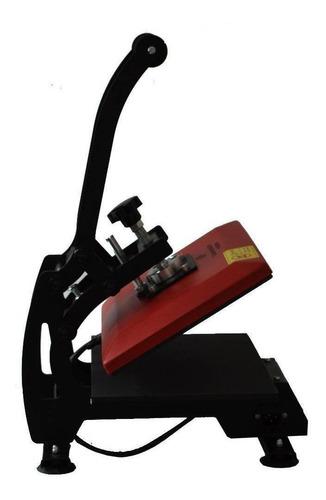 Plancha Sublimadora Y Transfer Tlp 23x30 Roja Y Negra 110v
