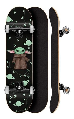Skate Street Cisco Skate Montado Yoda 8.0 Envio Imediato