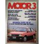Revista Motor 3 Nº64 Outubro 1985 Monza S/r Del Rey A20 R436