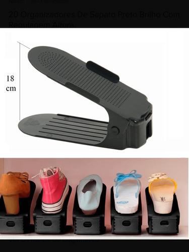 Organizador De Sapatos 20 Peças.