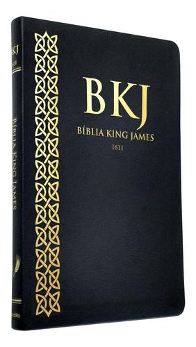 Bíblia Sagrada King James 1611 Fiel Ultrafina Preto