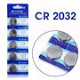 Bateria Lithium Cr2032 3v Huanqiu Pronta Entrega