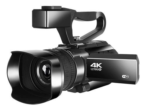 Filmadora Profissional Wi-fi  4k Ultra Hd Komery Rx100 Lives