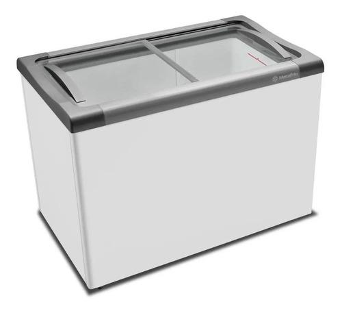 Congelador Metalfrio Tampo Deslizante Vidro 284lts Nf30